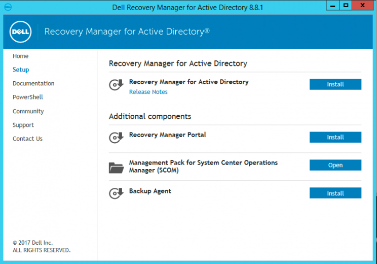 DELL Quest Active Directory Recovery Manager - ThatLazyAdmin