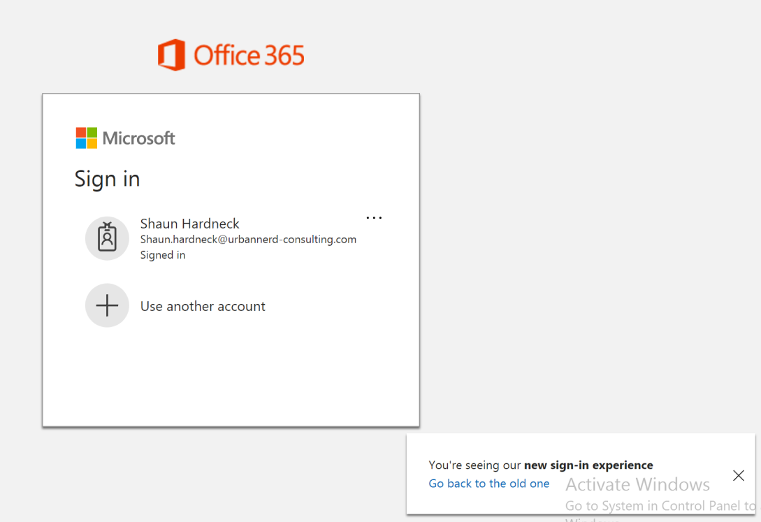 microsoft 365 sign in