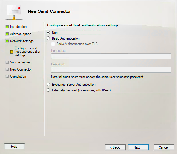 Creating a New Send Connector in Exchange 2010 - ThatLazyAdmin