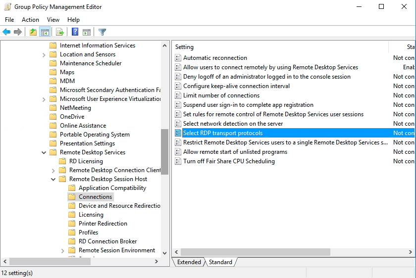 Create Gpo To Enable Rdp On Servers And Create New Gpo Link Using