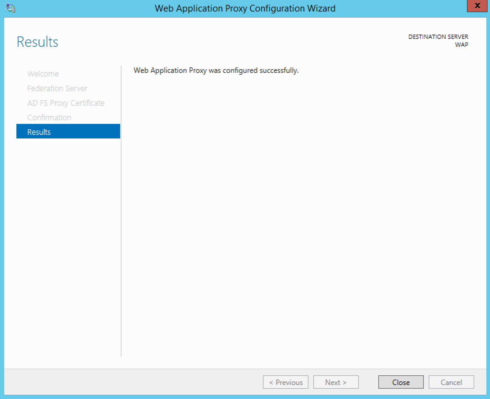 How to Configure ADFS Web Application Proxy for ADSF