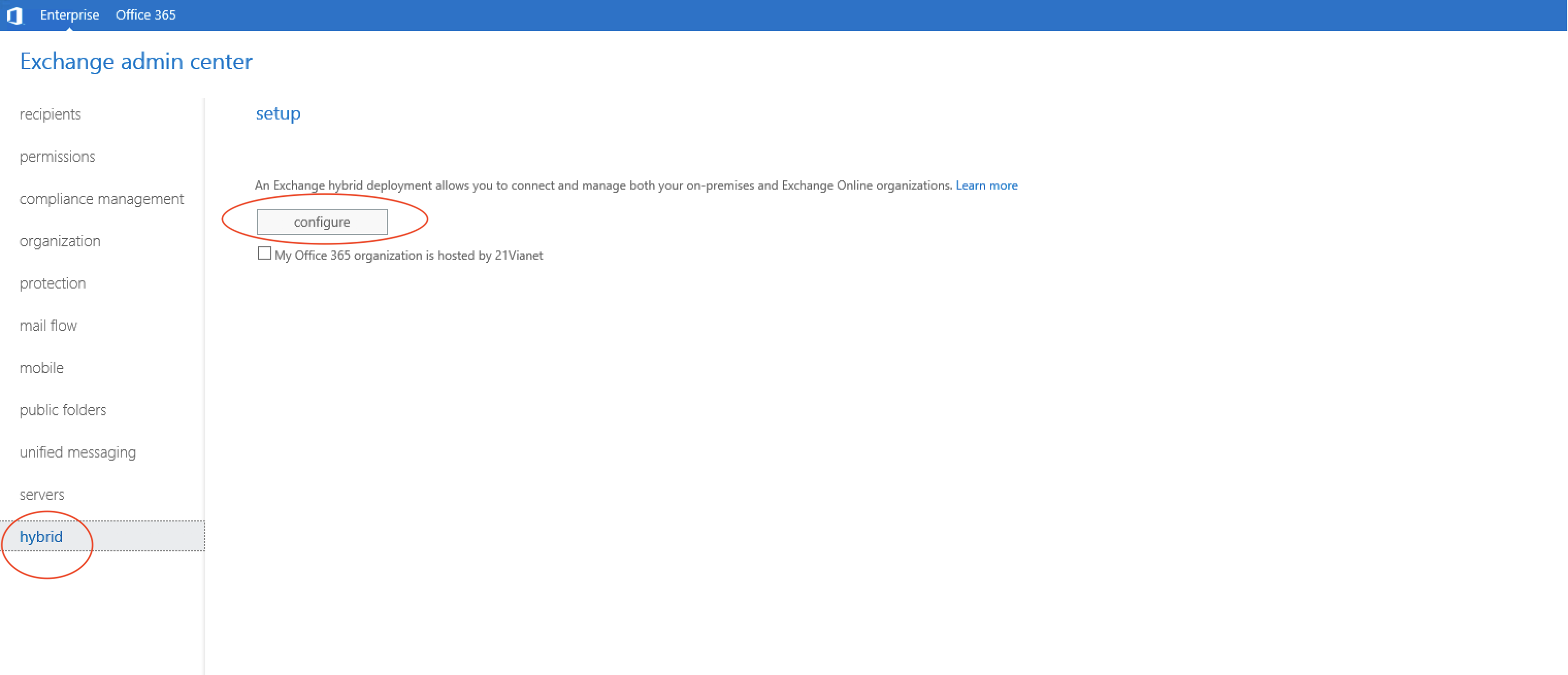 Once You Click On Configure Will Be Asked To Sign In Office 365 Provide The Details Of Global Administrator