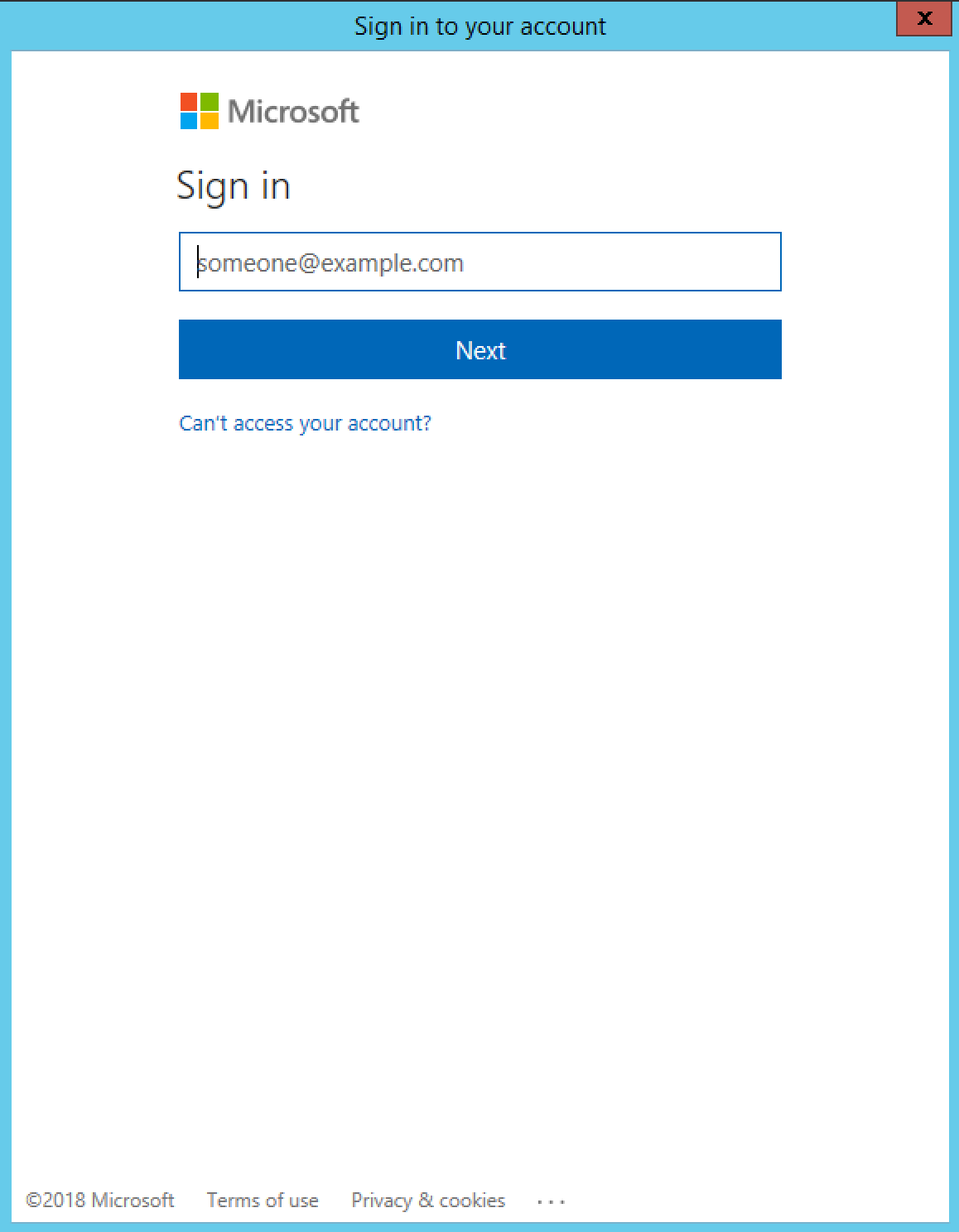 outlook 365 sign in