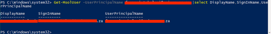 Change Office 365 Synced Users UPN Name  - ThatLazyAdmin