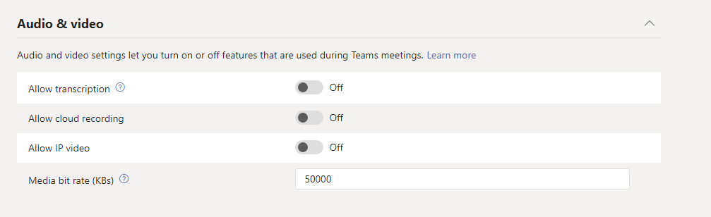 Creating a New Microsoft Teams Meeting Policy - ThatLazyAdmin