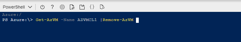 How to create a new Azure virtual machine using Azure PowerShell and